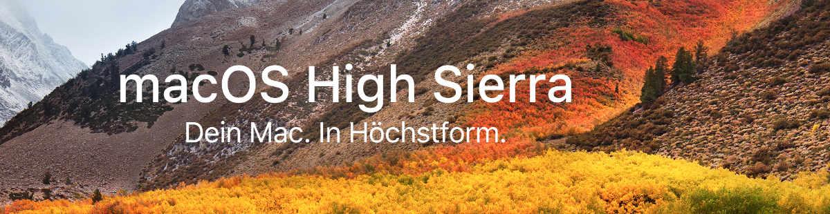 apfs high sierra
